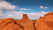 Beautiful Butte In Monument Valley Arizona poster