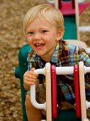 teeter totter smile close