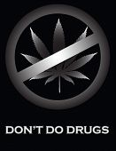 Don't Do Drugs Poster.