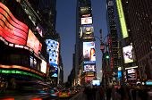 Times Square in de nacht