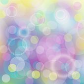 Bright Colorful Blurred Abstract Background For Holiday