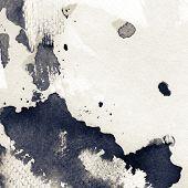 Abstrato base do grunge. Aquarela, textura de tinta.