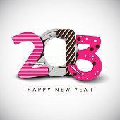 2013 Happy New Year. EPS 10.