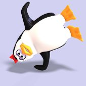 Female Toon Penguin
