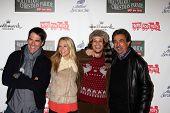 LOS ANGELES - NOV 25:  Thomas Gibson, AJ Cook, Matthew Gray Gubler, Joe Mantegna arrives at the 2012 Hollywood Christmas Parade at Hollywood & Highland on November 25, 2012 in Los Angeles, CA