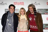 LOS ANGELES - NOV 25:  Thomas Gibson, AJ Cook, Matthew Gray Gubler arrives at the 2012 Hollywood Christmas Parade at Hollywood & Highland on November 25, 2012 in Los Angeles, CA