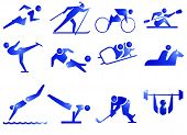 stock photo of plunder  - 12 icons about sports - JPG