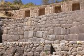 Detail, High Quality Of Inca Stone Wal