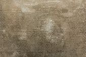 Tarnished Grungy Patterned Metal Background