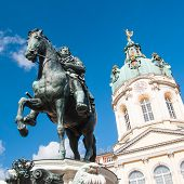 Statue Of Frederick William At The Schloss Charlottenburg In Berlin, Germany