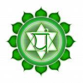Chakra Anahata Isolated