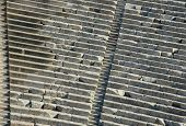 stock photo of epidavros  - Detail of the seating at the 4th century 15 - JPG