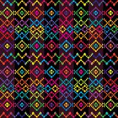 Ethnic Colored Carpet