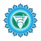 Chakra Vishuddha Isolated