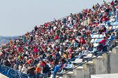 People Seeing The Training Of Formula One, 2012