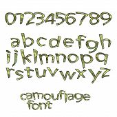 Camouflage Font