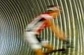 Canada Games Mountain Biking Speed Blur Tunnel