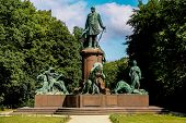 Bismarck Memorial In Berlin, Germany