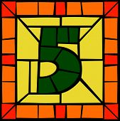 5 - Mosaic number