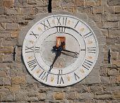 Klok op romaanse toren, Koper
