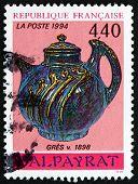 Postage Stamp France 1994 Stoneware, C.1898, Pierre-adrien Dalpayrat