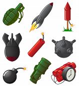 Set of Explosive Icons