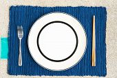 General Dinner And Lunch Set With Chopsticks