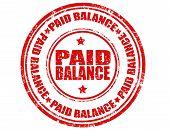 Paid Balance-stamp