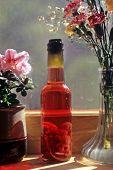 Raspberry Vinegar Bottle