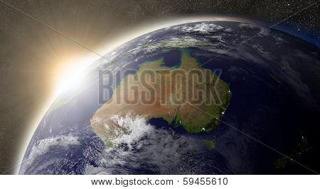 Sun Over Australia poster