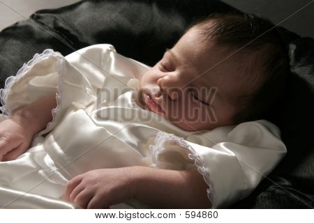 Picture or Photo of Studio shot of newborn baby boy