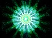 Green Particle Fission