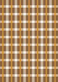 Intersecting beige and orange stripes