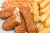 Fish Fingers And Chips