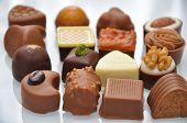 chocolate pralines truffles
