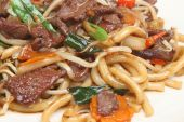 Chinese Beef With Noodles Takeaway