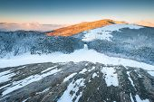 Roan Highlands Jane Bald Appalachian Trail Winter Sunrise