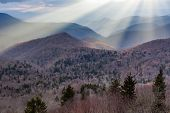 Southern Appalachian Mountain Sun