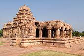 Indian Ancient Architeckture In The Archaeological Place In Pattadakal