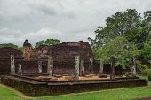 Ruins Of Polonnaruwa In Sri Lanka