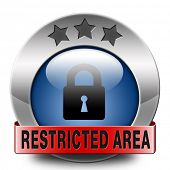 restricted area members only button access key icon password protected