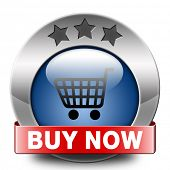 buy now and here online blue icon sales sell on internet shop online shop buy and add to cartbutton