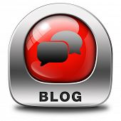 Blog online web log on personal website follow daily blogging