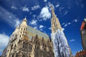 St. Stephan cathedral in Vienna Austria