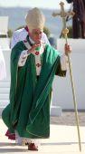Benedikt Xvi feiern eine Masse
