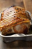 pork roast with crispy skin
