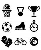 Collection of sports icons