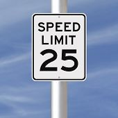 Speed Limit at 25