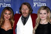 SANTA BARBARA - FEB 5:  Alexa Vega, Lew Temple, Abigail Breslin at the Santa Barbara International F