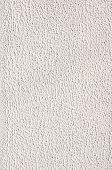 White Rough Plaster On Wall Closeup
